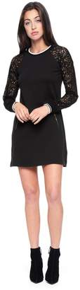 Juicy Couture Fleece & Lace Dress