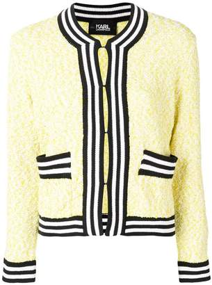 Karl Lagerfeld Paris Neon Lights knit cardigan