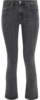 IRO Jama Cropped Mid-Rise Bootcut Jeans