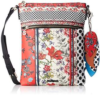 Desigual Bols_tripatch Ghana, Women's Cross-Body Bag,3x29x22.3 cm (B x H T)