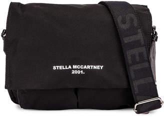 Stella McCartney Medium Shoulder Bag in Black & White | FWRD