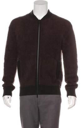 Vince Wool Sherpa Bomber Jacket