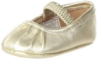 Ralph Lauren Layette Pleat Crib Shoe (Infant/Toddler)