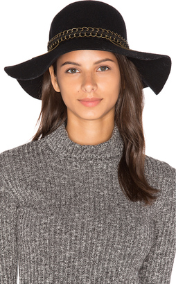 Michael Stars Mixed Metal Floppy Hat $68 thestylecure.com