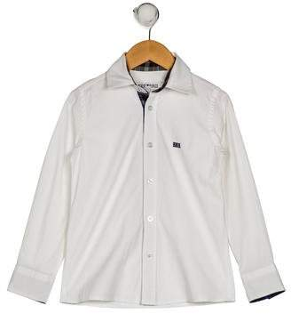 Bikkembergs Boys' Collar Button-Up Shirt