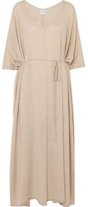 Madeleine Thompson Finch Cashmere Midi Dress - Beige