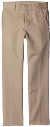 Nautica Husky Flat Front Pants Boy's Casual Pants