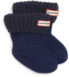 Hunter Cardigan Knit Cuff Welly Boot Socks