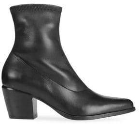 Vince Hayak Leather Ankle Boots