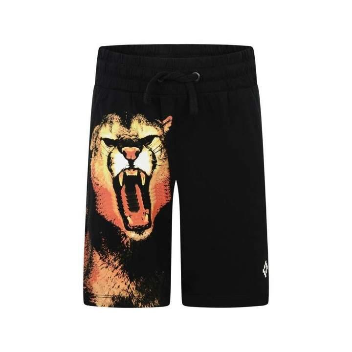 Marcelo BurlonBoys Black Puma Bermuda Shorts