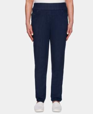Alfred Dunner Petite Lake Tahoe Pull-On Jeans