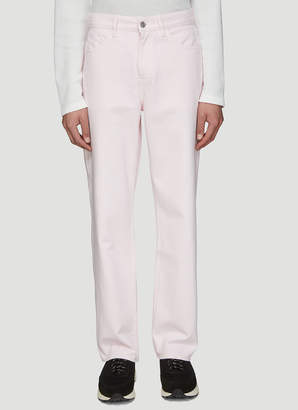 Our Legacy Formal Cut Jeans in Translutent Pink