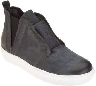 Miz Mooz Leather Slip-on Sneakers with Goring - Laurent