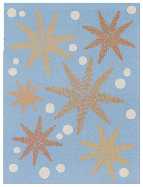 Emma Gardner - stars rugs by emma gardner