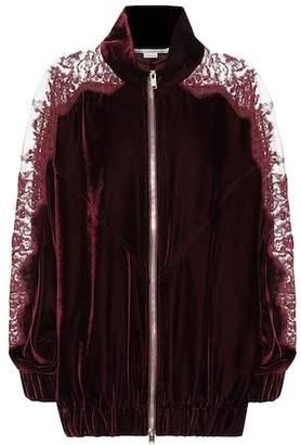 Stella McCartney Lily velvet jacket