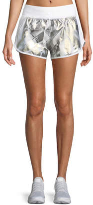 Under Armour Fly-By Metallic Printed Running Shorts