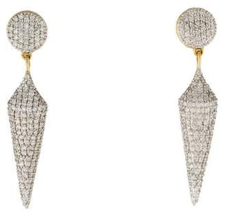 Phillips House 14K Diamond Apogee Drop Earrings