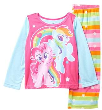3a943a20bf My Little Pony AME Fleece Pajama Set (Little Girls   Big Girls)