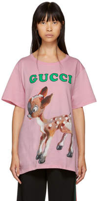 Gucci Pink Bambi T-Shirt