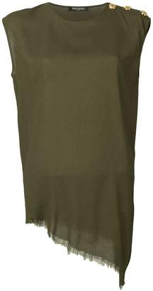 Balmain sleeveless blouse