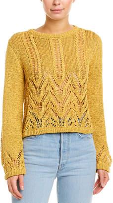 BCBGMAXAZRIA Crochet Sweater