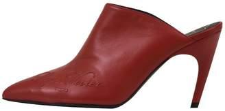 Roger Vivier 8cm Choc Real Label Mules