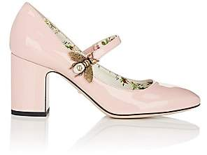 Gucci Women's Lois Patent Leather Mary Jane Pumps - Pink
