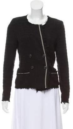 Etoile Isabel Marant Fringe-Trimmed Tweed Jacket