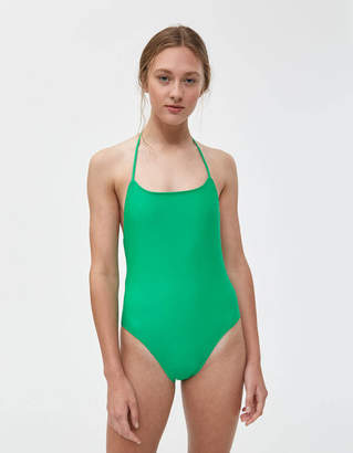 Nu Swim Halter One-Piece Swimsuit