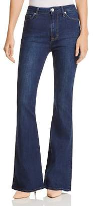 Hudson Holly High Rise Flared Jeans in Gaines - 100% Exclusive