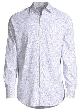 Peter Millar Mini Flower Print Shirt