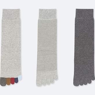 Uniqlo Women's Toe Socks (3 Pairs) (online Exclusive)