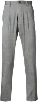 Al Duca D'Aosta 1902 pinstripe slim fit trousers