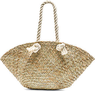 Hat Attack Rope Handle Market Basket Bag