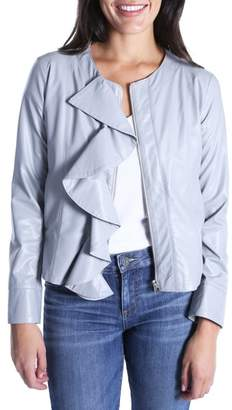 KUT from the Kloth Dahliana Faux Leather Jacket