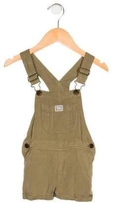 Polo Ralph Lauren Girls' Sleeveless Overall Jumpsuit