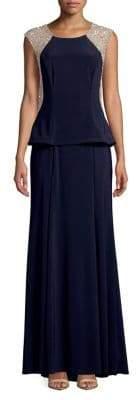 Xscape Evenings Embellished Sleeveless Gown
