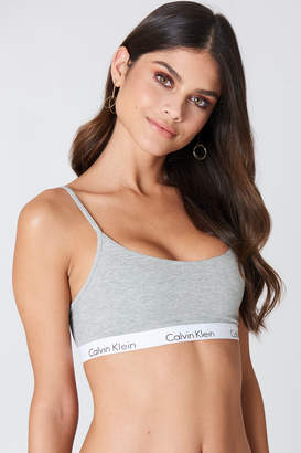Calvin Klein Bralette One Cotton Black