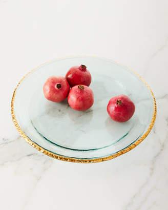 Annieglass Edgey Round Party Platter