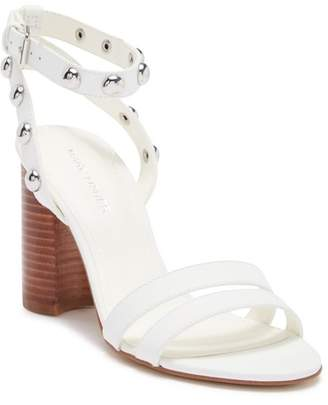Marc Fisher Lantern Leather Block Heel Sandal