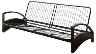 DHP Alessa Metal Futon Frame - Black - Dorel Home Products