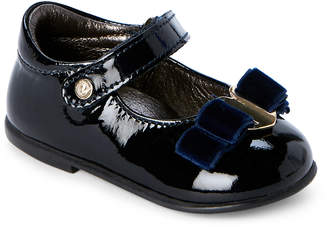 Naturino Toddler Girls) Blue Patent Leather Mary Jane Shoes