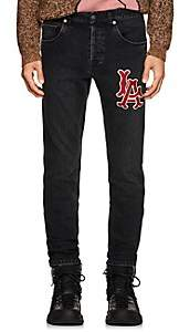 Gucci Men's LA AngelsTM Slim Jeans - Black
