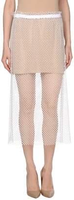 N°21 Ndegree 21 3/4 length skirts