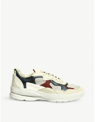 Filling Pieces Low Fade Cosmo leather trainers