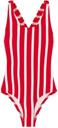 Milly Mini Striped Swimsuit