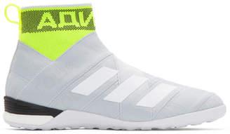 Gosha Rubchinskiy Grey adidas Original Edition Nemeziz Mid Sneakers