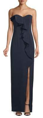 Jay Godfrey Varys Strapless Column Gown