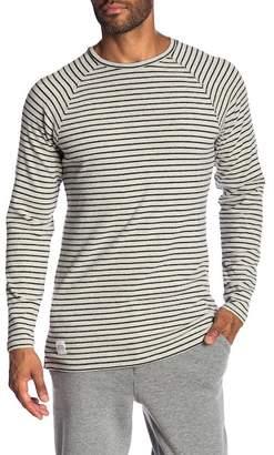 NATIVE YOUTH Brushed Raglan Sleeve Stripe Tee