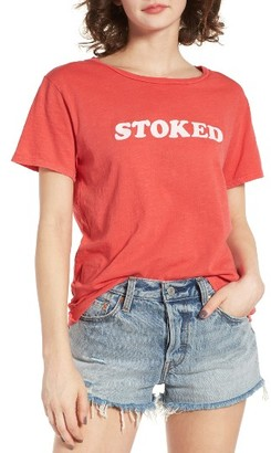 Women's Billabong Stoked Graphic Tee $29.95 thestylecure.com